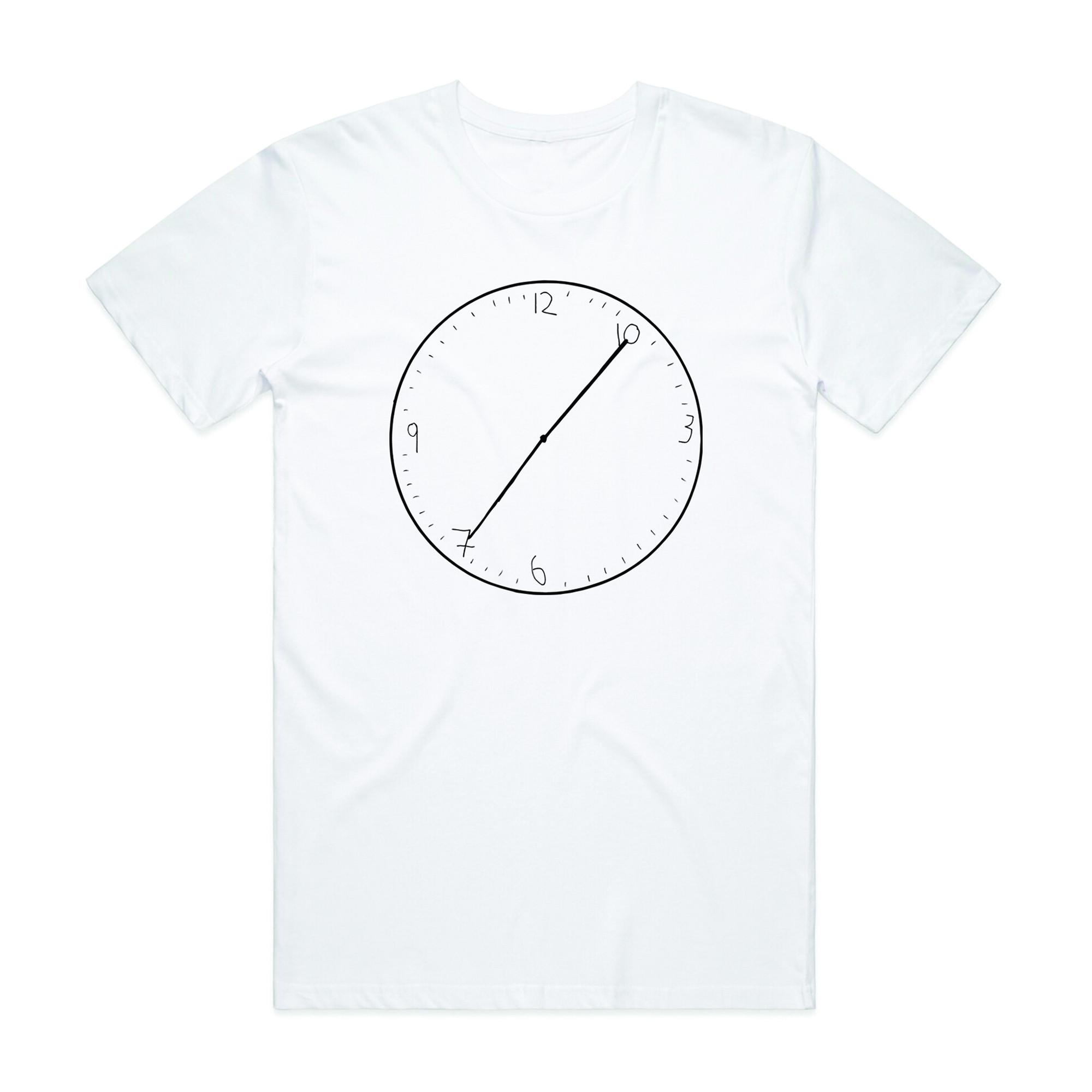 Carl Barron - Clock White Tee